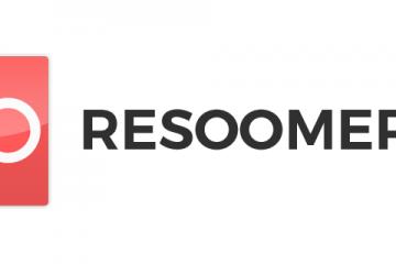Zoom sur le logiciel Resoomer